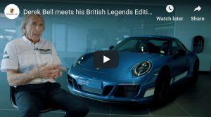 British Legends Edition 911 Carrera 4 GTS