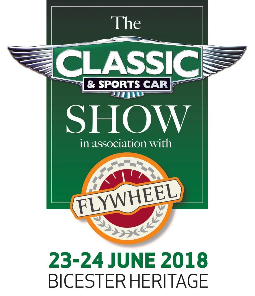 Derek Bell appearing at The Classic & Sports Car Show