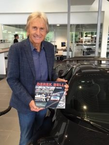 Derek Bell Book signings at Oldtimer Grand Prix, Nürburgring