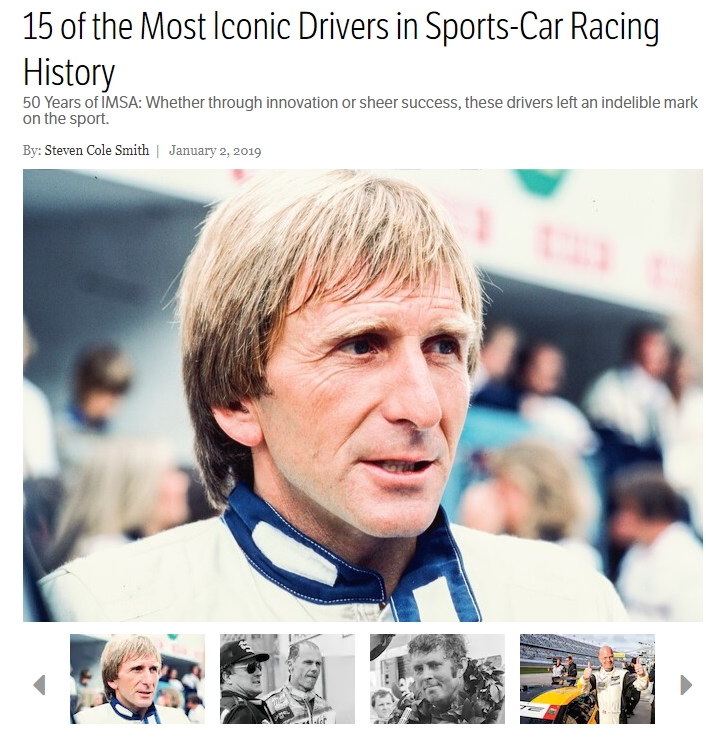 Derek Bell 15 most iconic drivers