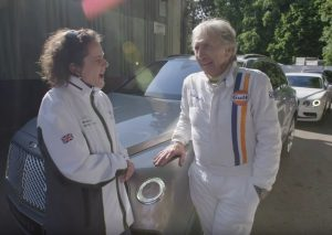 5x Le Mans Winner Derek Bell Shows Off the Bentley Bentayga!