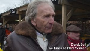 Derek Bell to be honoured at Goodwood