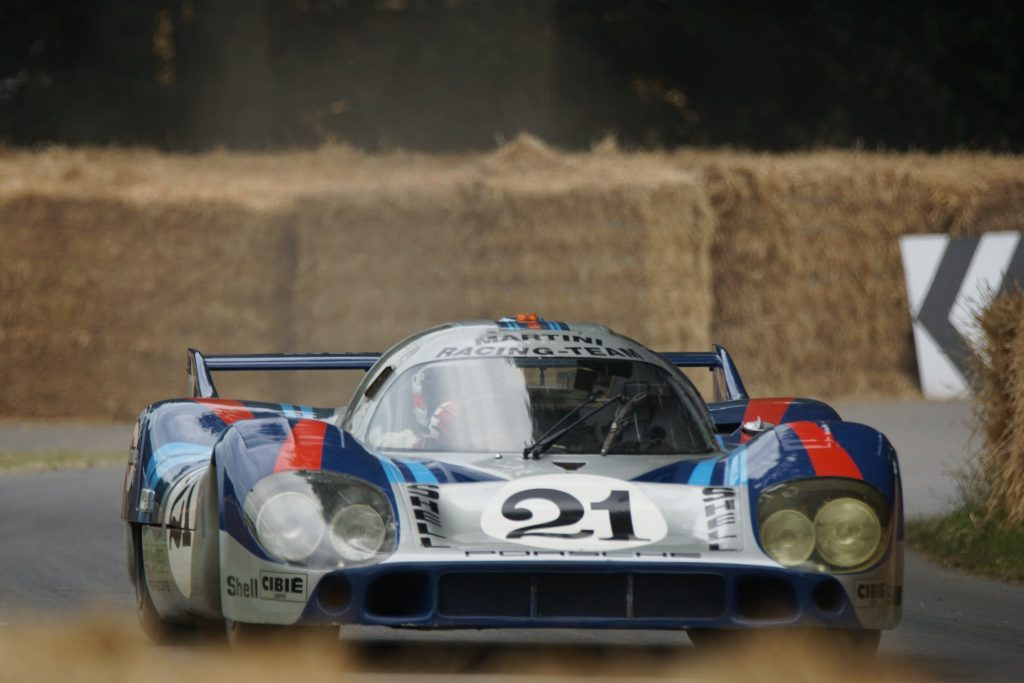 Goodwood Festival of Speed with the Porsche 917 Longtail