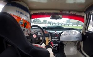Goodwood Revival 2013: Derek Bell in a Corvette