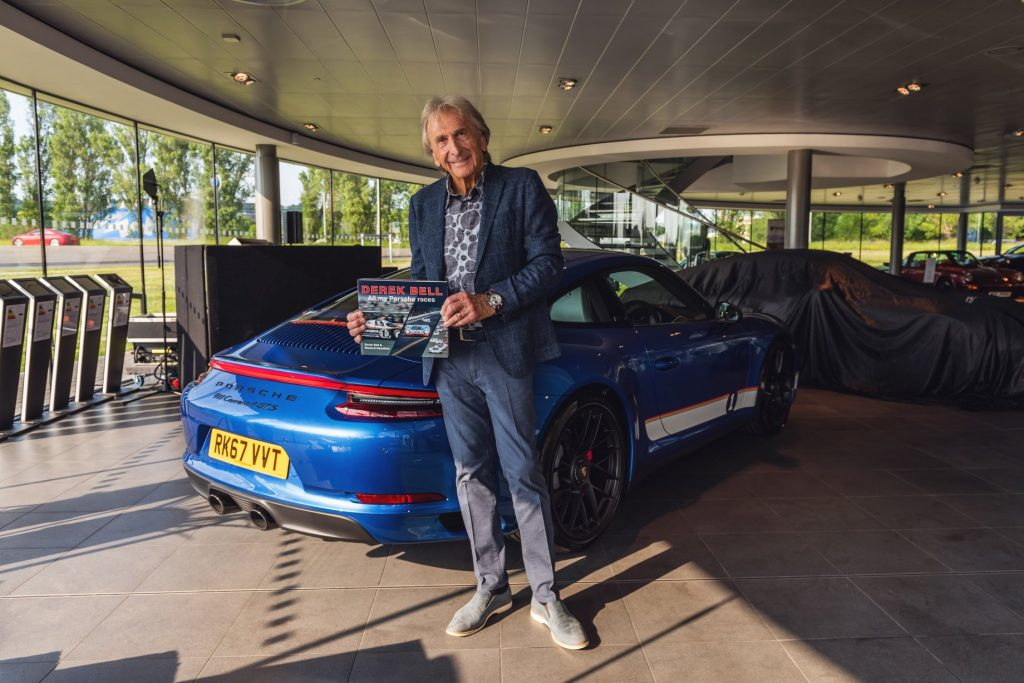porsche legends derek bell
